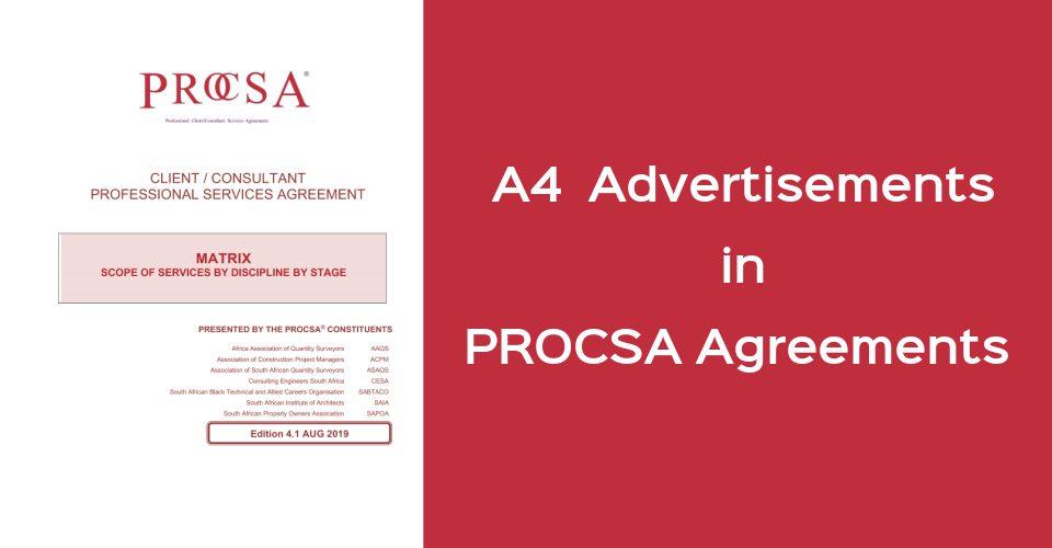 PROCSA A4 Ads